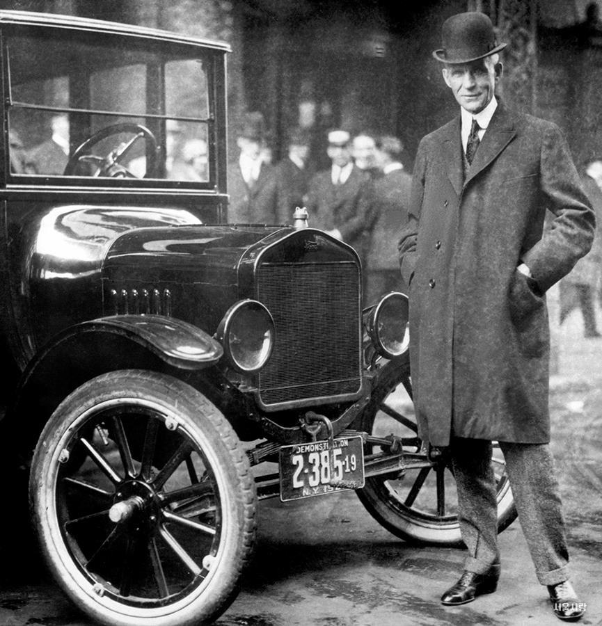 1908 디젤 자동차 등장으로 경유를 수입